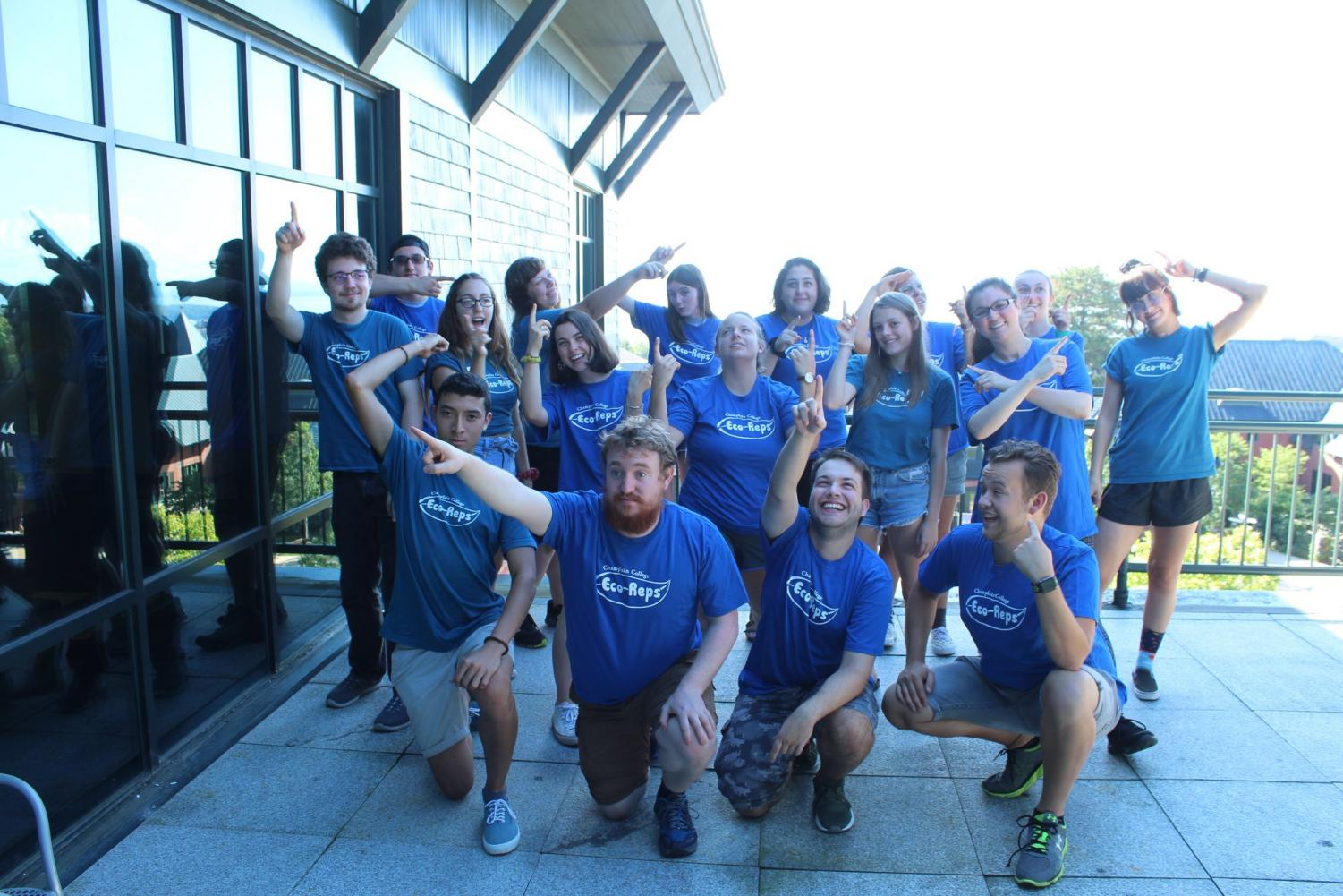 Champlain College's Eco Rep Team