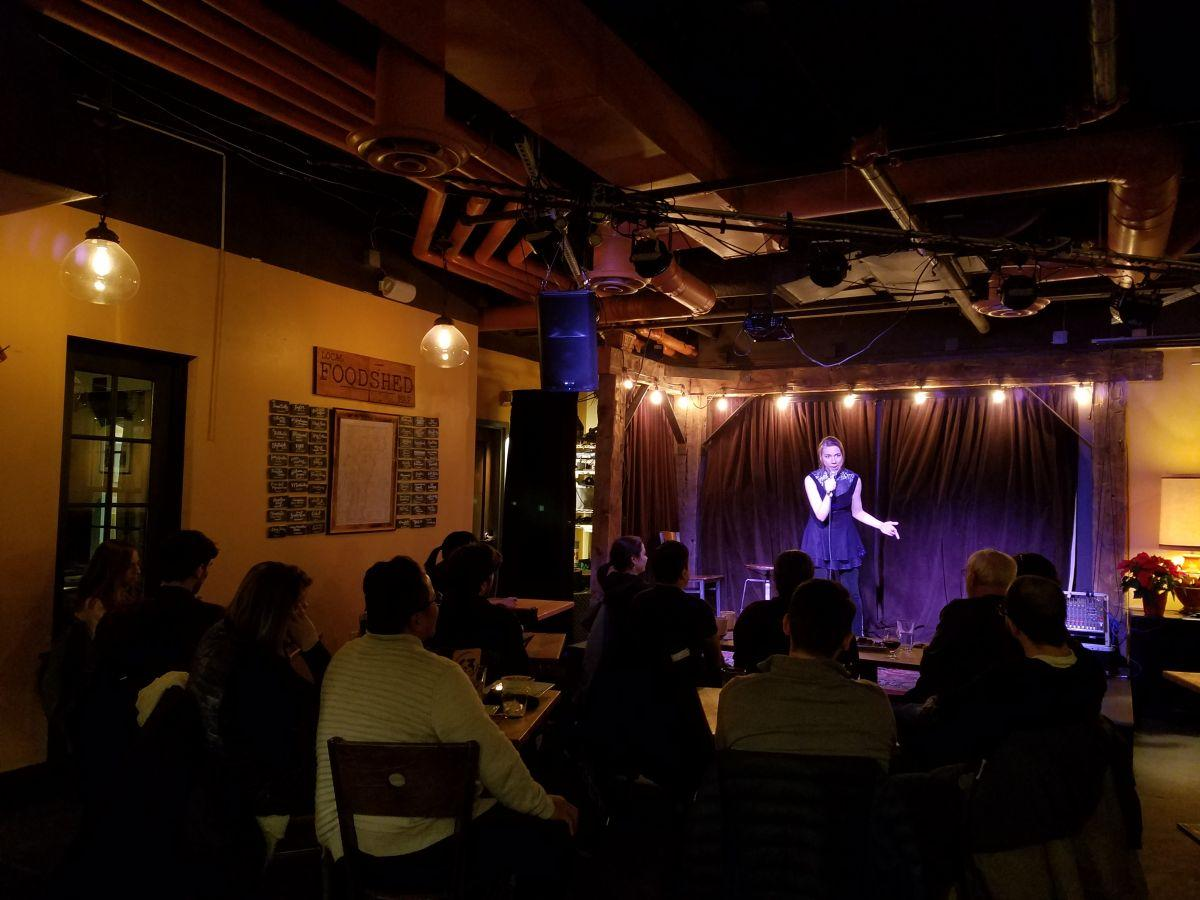 Comedy and Crepes, photo credit: VPR