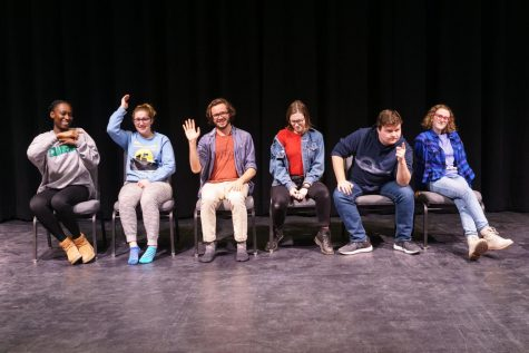 Los Dormant Volcanoes, Champlain College's Improv Troupe (photo credit: Adam DeCosta)