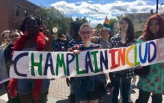Champlain Students March at Vermont Pride
