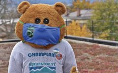 Chauncey T. Beaver wearing a mask before everyone went virtual.