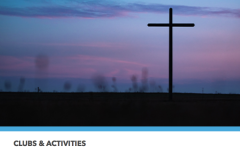 Screen shot of the Christian Fellowship portion of the Faith and Spirituality Club page.